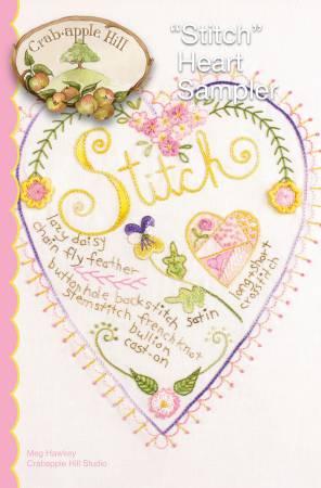 CAH #115 - Stitch Heart Sampler