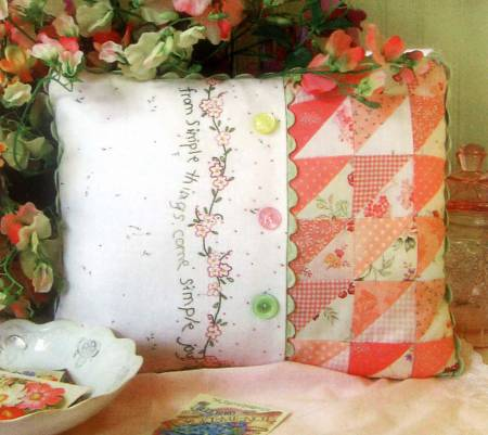 Simple Joys of Spring Pillow *18