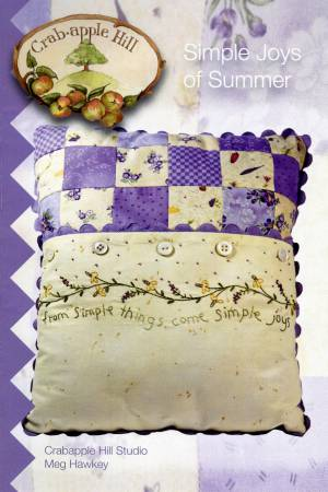 CAH #217 - Simple Joys of Summer Pillow