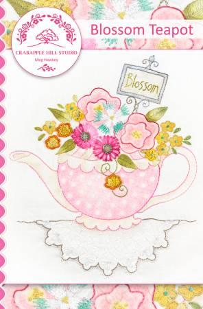 CAH #2208 - Blossom Teapot