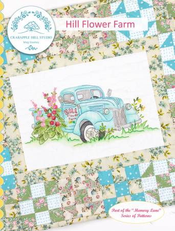 Hill Flower Farm Pattern by Crabapple Hill Studio