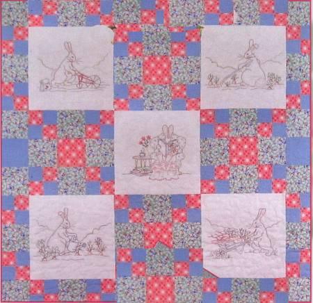 CAH #227 - Honey Bunny's Garden Quilt