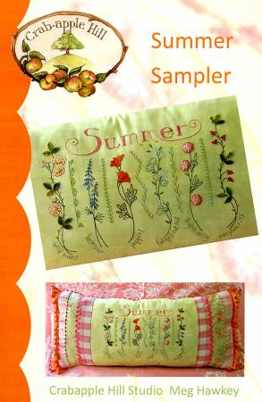 Summer Sampler Pillow