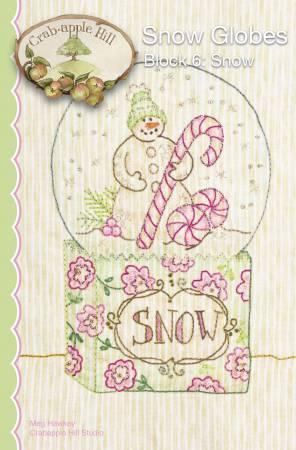 CAH #2527 - Snow Globes Block 6 Snow