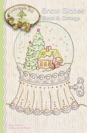 CAH #2530 - Snow Globes Block 9 Cottage