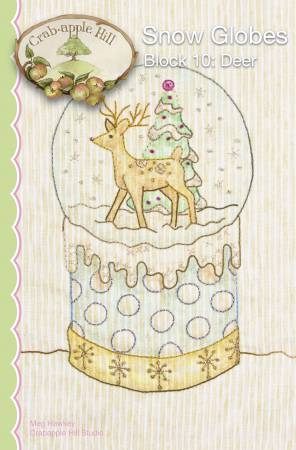 Snow Globes Block 10 Deer