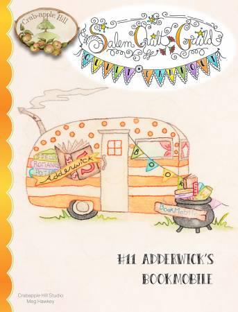 #11 Adderwick's Bookmobile Salem's Quilt Guild Quilt Campout