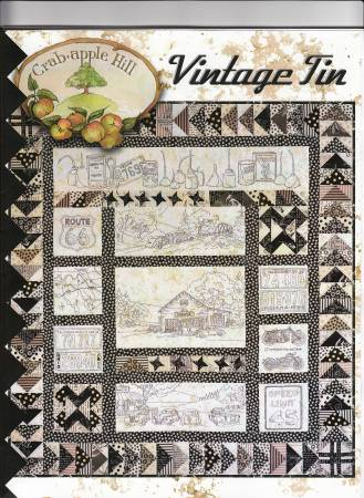 Crabapple Hill Studio Vintage Tin Quilt Pattern