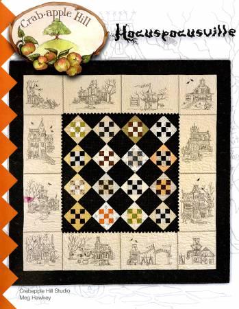Crabapple Hill Studio Hocuspocusville Quilt Pattern