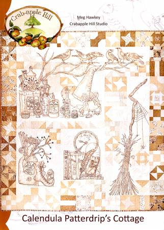 Crabapple Hill Calendula Patterdrip's Cottage Quilt Pattern