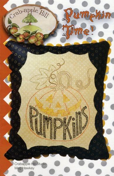 CAH #321- Pumpkin Time Pillow