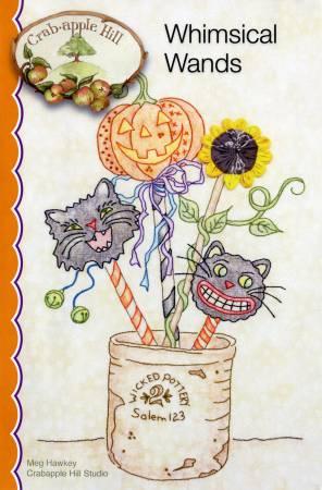 Whimsical Wands Stitchery