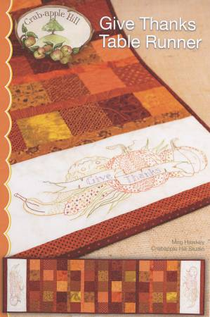 Give Thanks Table Runner Pattern