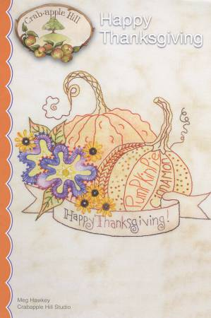 Crabapple Hill Happy Thanksgiving pattern