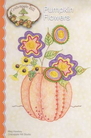 Crabapple Hill Studio-  Pumpkin Flowers with Cosmos thread kit