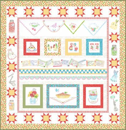 Summer Kitchen Full Pattern Set