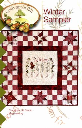 Winter Sampler Quilt Crabapple Hill