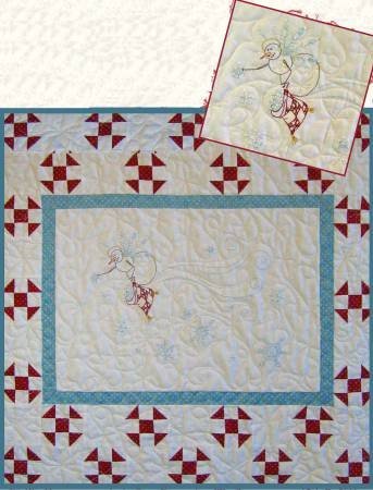 CAH #415 - Snowflake  Angel Wallhanging
