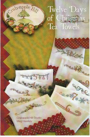 Twelve Days of Christmas Tea Towels
