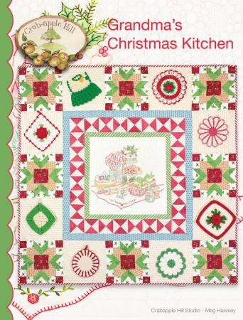 Grandma's Christmas Kitchen Pattern