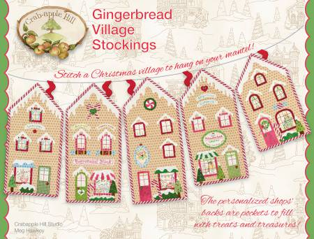 Gingerbread Village Stockings