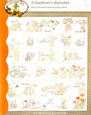 Gardener's Alphabet Quilt Block of the Month - Complete Set