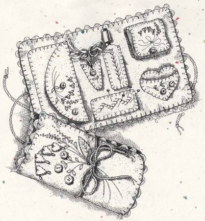 Arlyns Embroidery Envelope