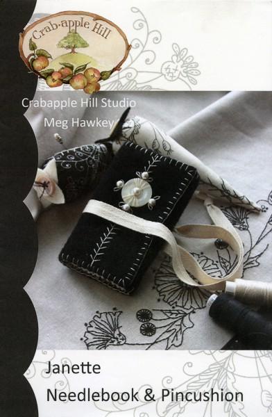 CAH #821 - Janette Needlebook & Pin Cushion