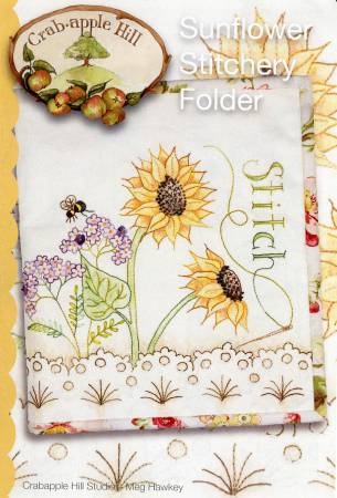 Sunflower Stitchery Folder