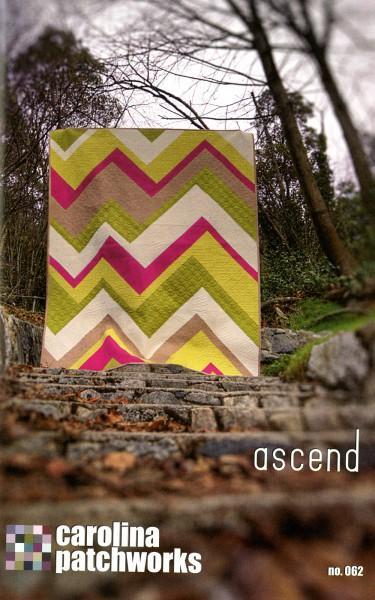 Ascend Quilt Pattern by Carolina Patchworks