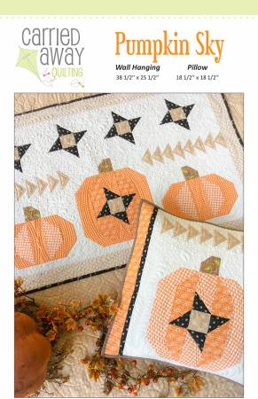 Carried Away Quilting Pumpkin Sky