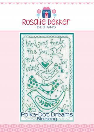 Polka-Dot Dreams - Birdsong Pattern