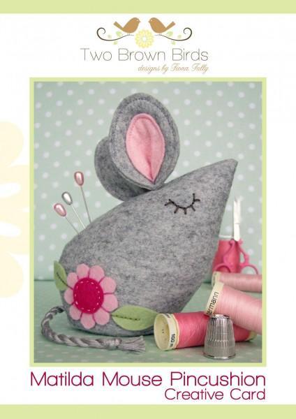 Matilda Mouse Pin Cushion