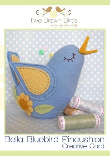 Bella Bluebird Pincushion