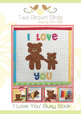 I Love You Busy Book Pattern