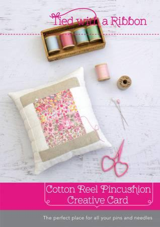 Cotton Reel Pincushion  Card