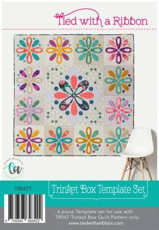 Trinket Box - Acrylic Template Set TR047T