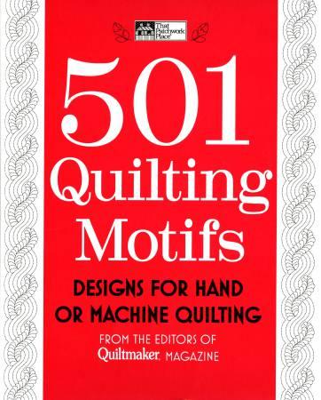 501 Quilting Motifs - Spirl Bound Hardcover