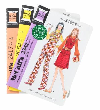 Vintage McCall's Patterns Notebooks 3pk