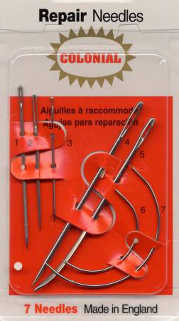 Colonial Needle Household Repair Needle Set 7ct