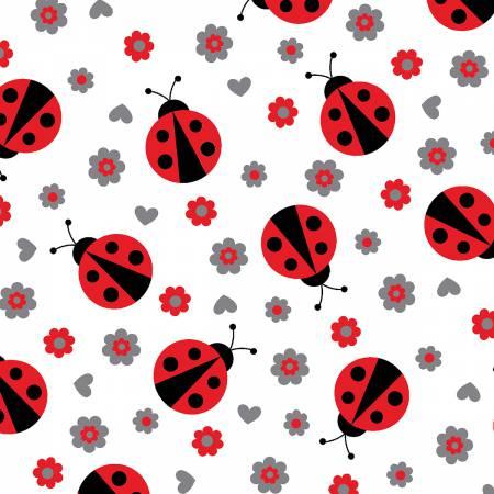 Scarlet Ladybug Cuddle 60 wide