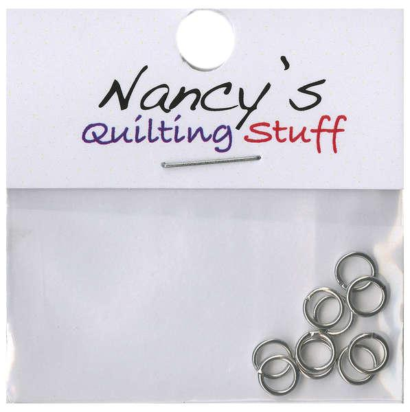 Nancy's quilting stuff jump rings 5mm