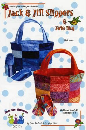 Jack & Jill Slipper & Tote Bag