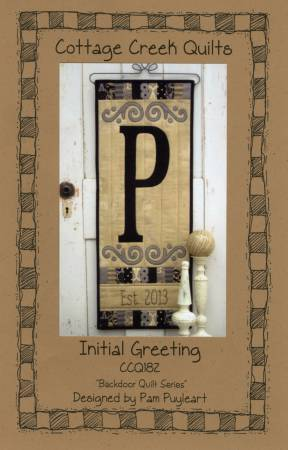 Initial Greeting  Pattern CCQ182