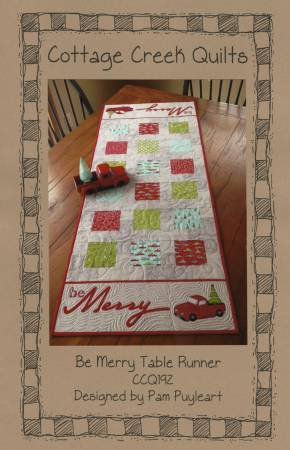 Be Merry Table Runner