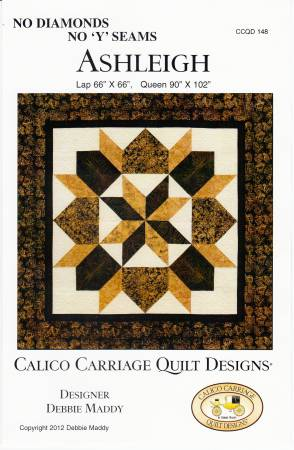 Calico Carriage Quilt Designs - Ashleigh