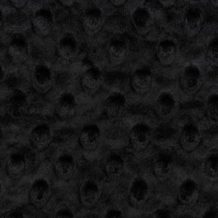 Black Dimple Dot Cuddle Solid