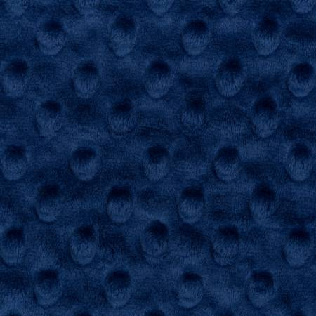 Shannon - Midnight Blue Dimple Dot Cuddle Solid