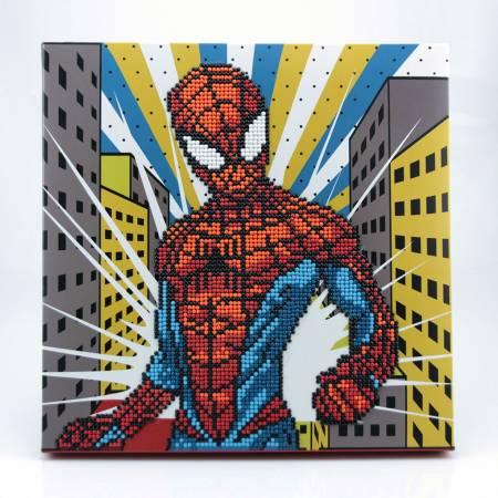 Spiderman Dotz Box 11in x 11in