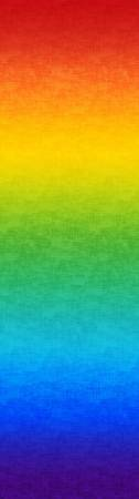 Multi Rainbow Gradation Digitally Printed